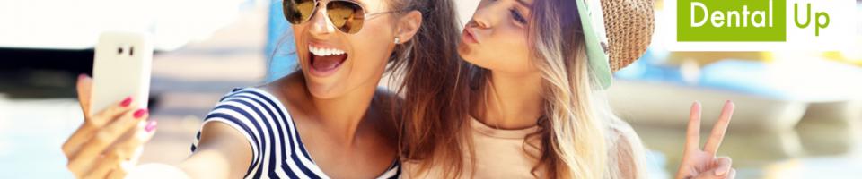 selfie dental up